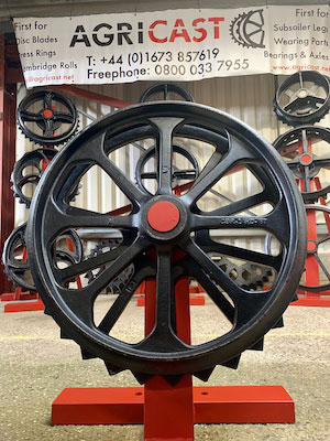 Agricast replacement high strength wheel