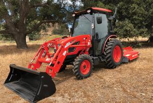 Kioti DK10SE tractor