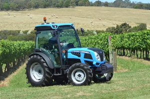Landini REX 4 100 GT CAB tractor