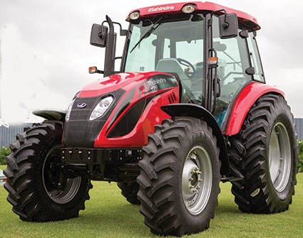Australasian Farmers' & Dealers' Journal Mahindra models the