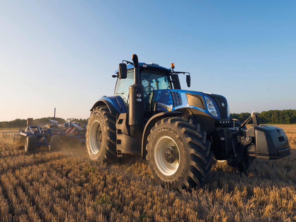 New Holland Genesis T8 Series tractor