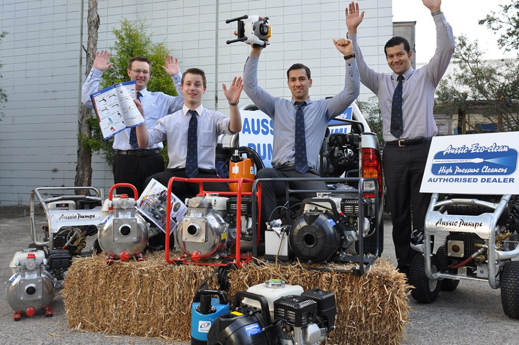 Aussie Pumps Field Days Team