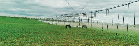 John Deere powered irrigation system