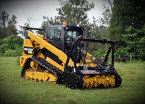 Digga Magnum Mulcher on skid steer
