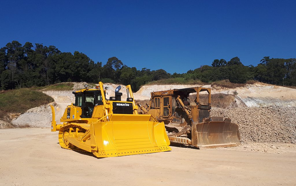 John Bashforth and Sons Komatsu bulldozer