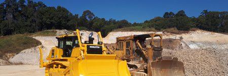 John Bashforth and Sons Komatsu bulldozer