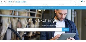 milk exchange homepage