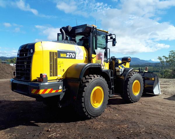 Komatsu-WA270-8 wheel-loader