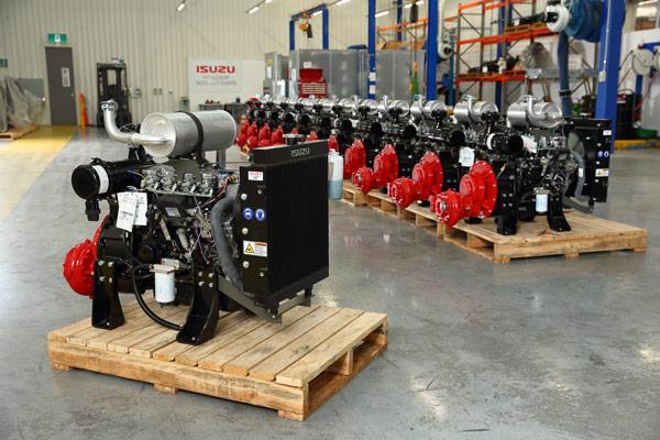 Isuzu portable engines