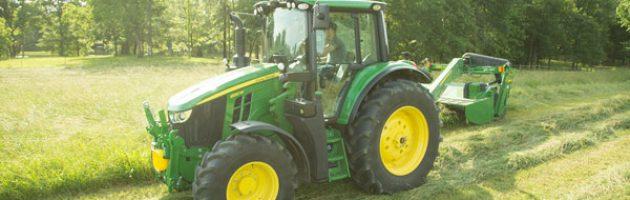 John Deere 6M tractor