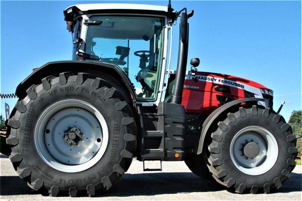 Trelleborg tyres on MF 8S tractors