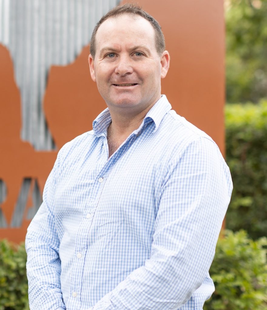 Droughtmaster general manager Simon Gleeson