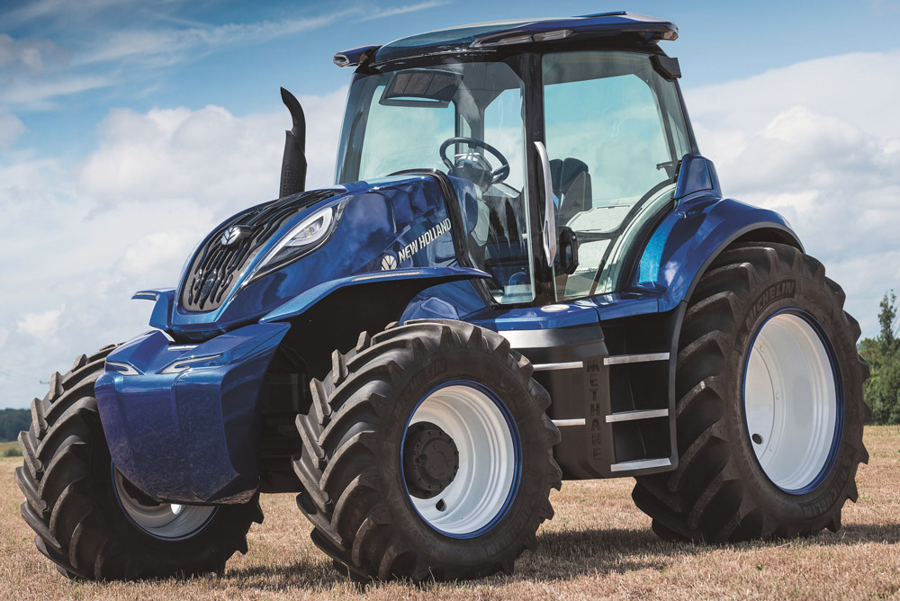 T6 Methane Power tractor